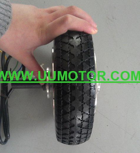 8 inch single shaft motor