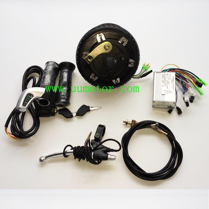 6 inch drum braking electric scooter conversion kit - UU Motor