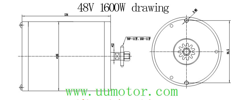 Common Brushless Dc Motor Wires Diagram Uu Motor Faq Wiring